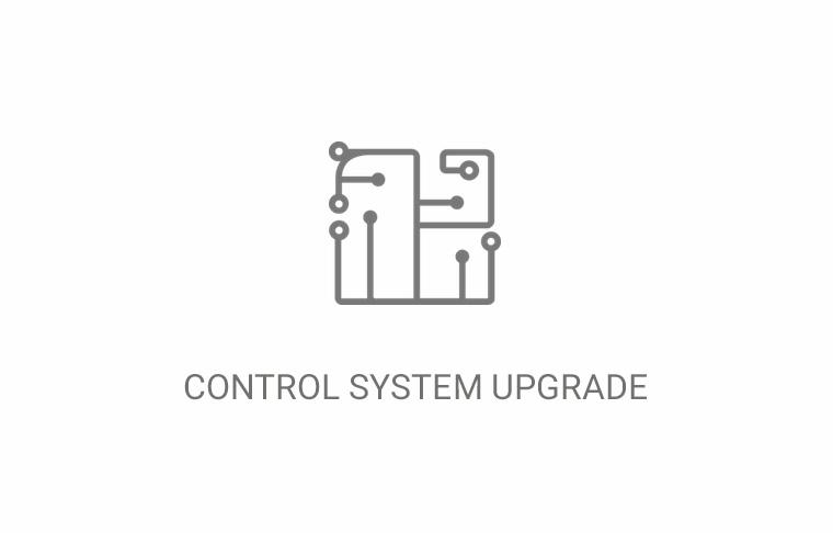 Control system upgrade