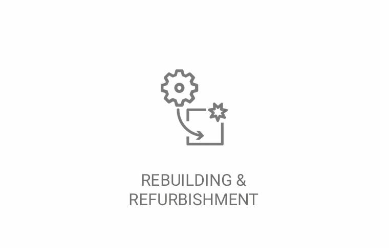 Rebuilding & refurbishment