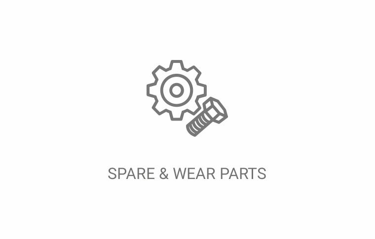 Spare & wear parts